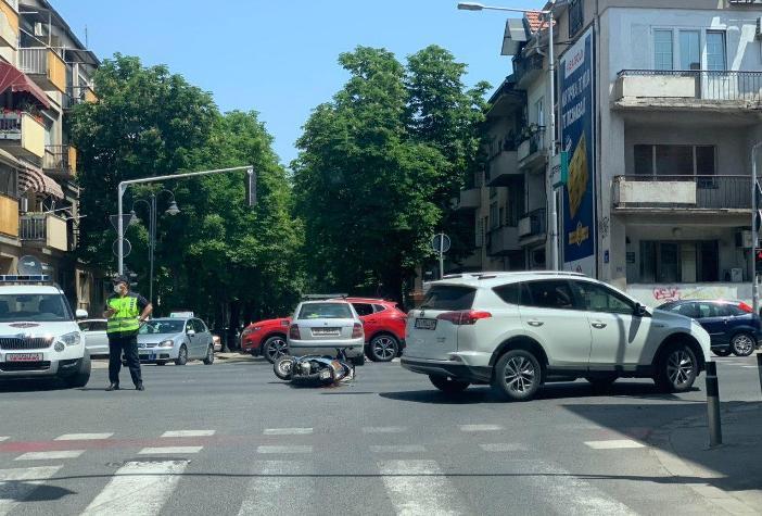 (ФОТО) Сообраќајка на Илинденска