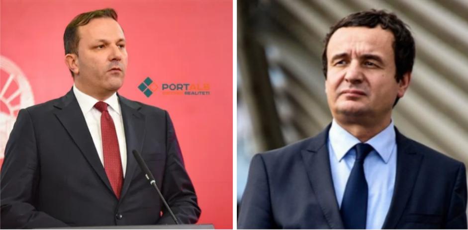Спасовски и Курти телефонски разговараа за координирано справување со пандемијата