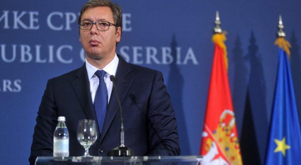 Вучиќ: Никогаш никој не ми споменувал размена на територии