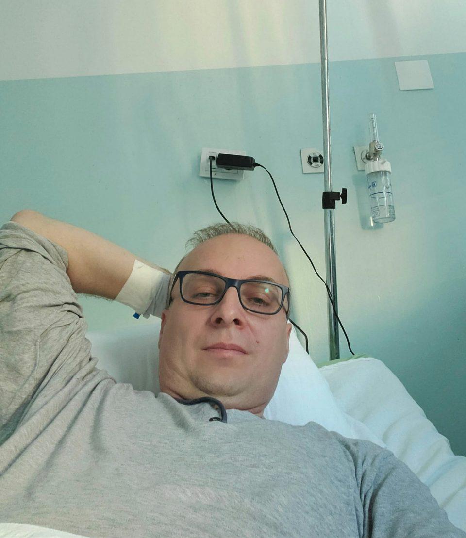 Антонио Милошоски позитивен на Ковид-19, хоспитализиран на Инфективна клиника