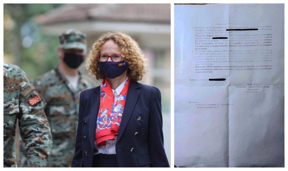 (ДОКУМЕНТ) Шекеринска предизвикала скандал во НАТО база во Авганистан: Војник заглавил без безбедносен сертификат!