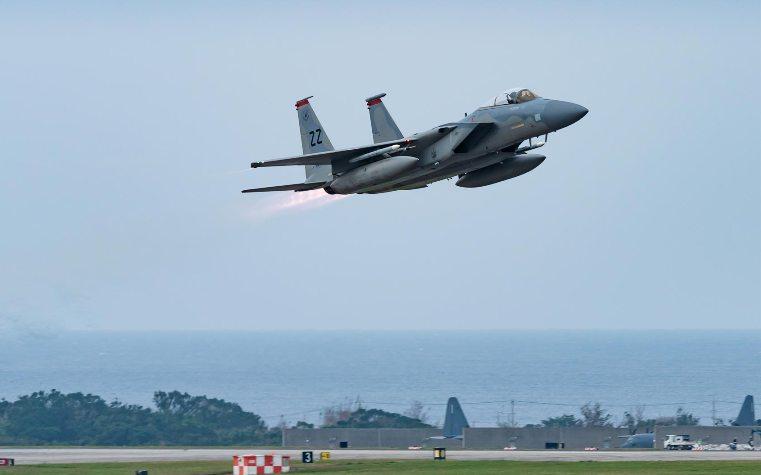 Американски борбен авион Ф-15 се урна во Северното Море