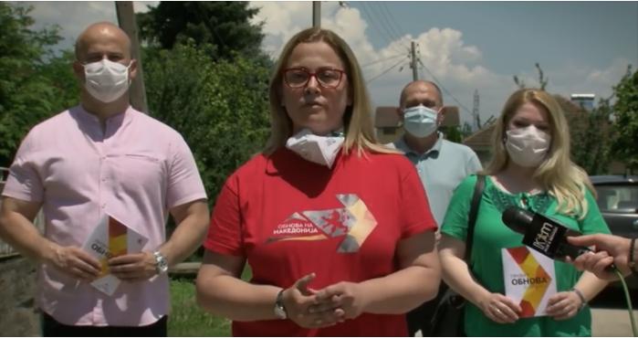 (ВИДЕО) Стојаноска од Гостивар: Со обнова до проектот еден денар за спортот и еден денар за културата