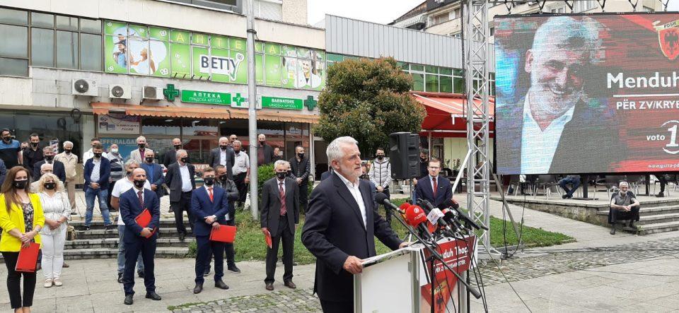 Тачи: Победата на ДПА нема смисла ако не изгуби Али Ахмети и ДУИ
