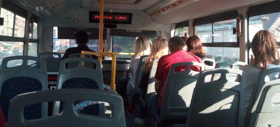 Автобусите смеат да бидат полни најмногу до 50% од капацитетот