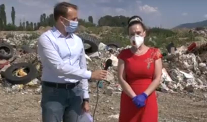 (ВИДЕО) Мизрахи и Стојаноски: ВМРО-ДПМНЕ ќе го реши проблемот со дивите депонии во Ѓорче Петров
