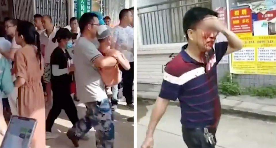 (ВИДЕО) Напад со нож во градинка: Повредени 37 деца