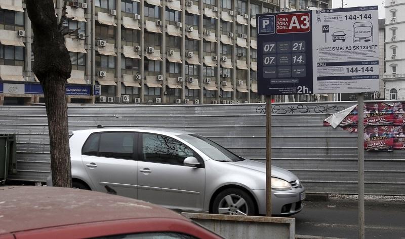 Скопјани се степале за паркинг