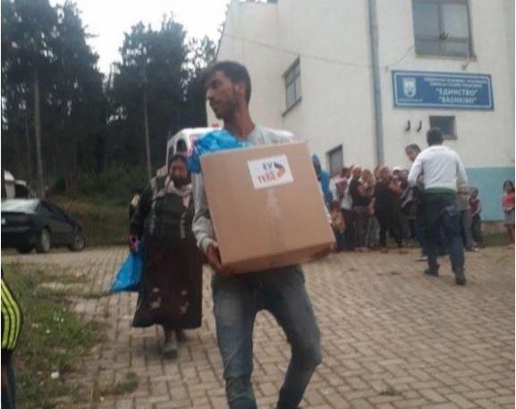 (ФОТО + ВИДЕО) На прв ден кампања, СДСМ врши поткуп во Гостивар