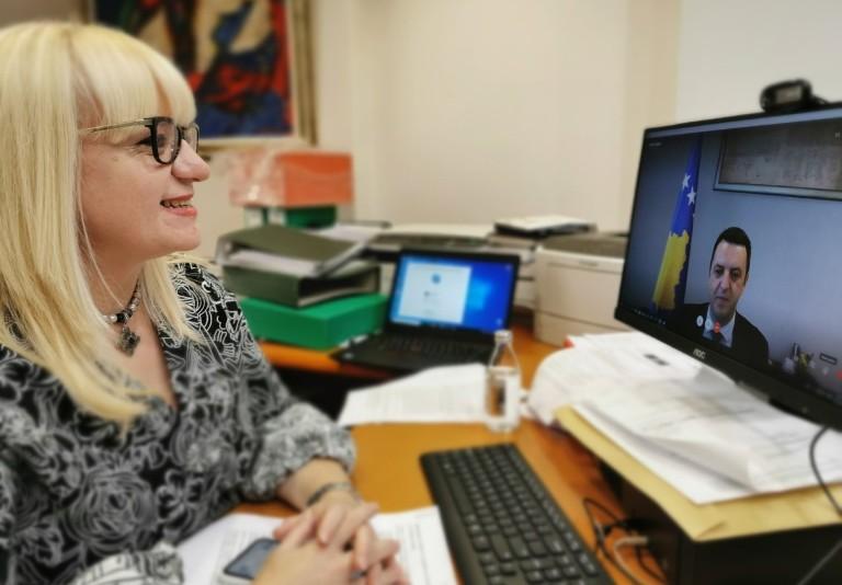 """Дескоска на линија со косовскиот министер за правда: Бара екстрадиција на обвинетите за """"Монструм"""""""