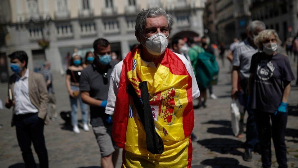 Регионот на Мадрид побара помош од армијата за борба со Ковид-19