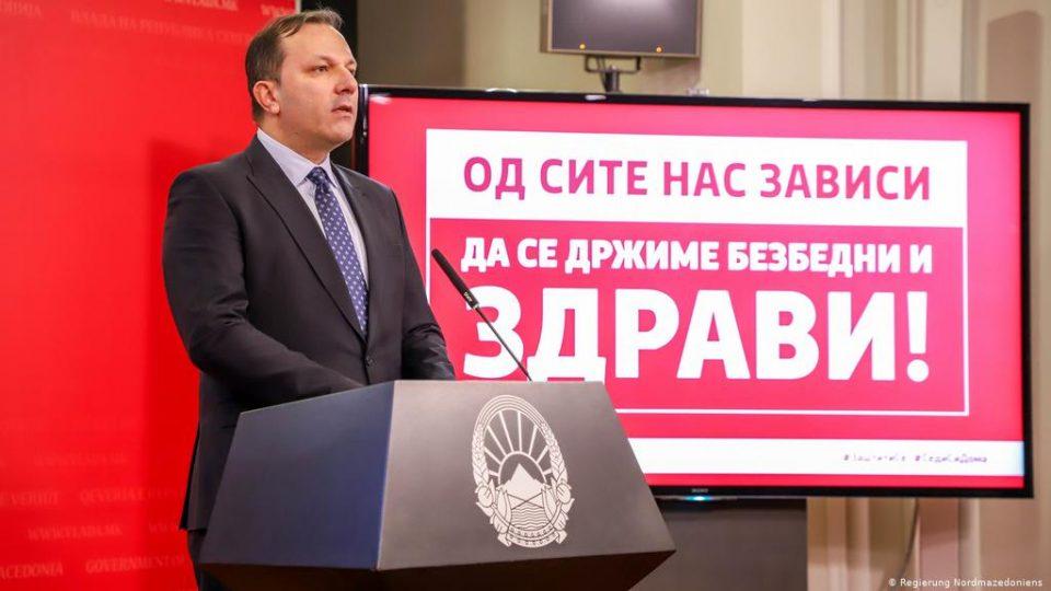 За премиерот Спасовски состојбата е под контрола, иако бројот на заразени е огромен