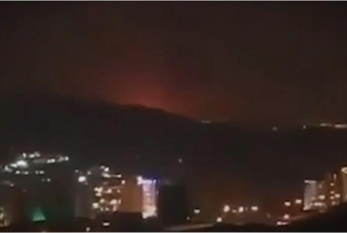 Силна експлозија во близина на воена база во Техеран