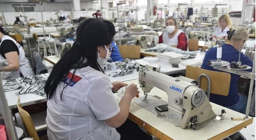 Текстилниот кластер во Штип брои 126 заразени со коронавирус