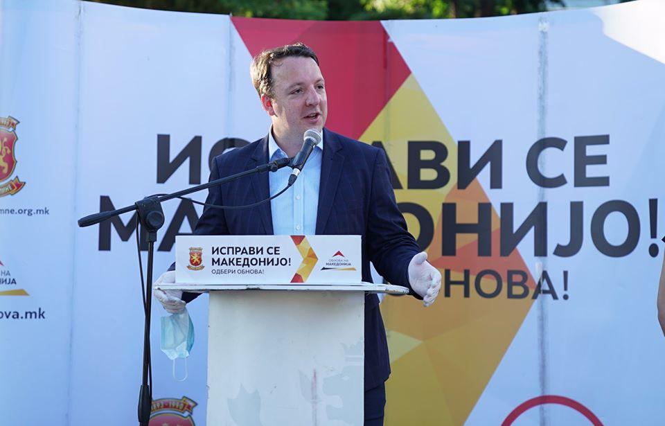 Николоски: На 15 јули победуваме убедливо и ставаме крај на Заев и на бандитите околу него