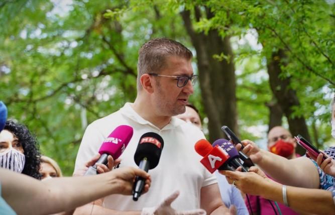 Мицкоски: Веднаш по формирањето влада ќе пристапиме кон борба против ковид-кризата