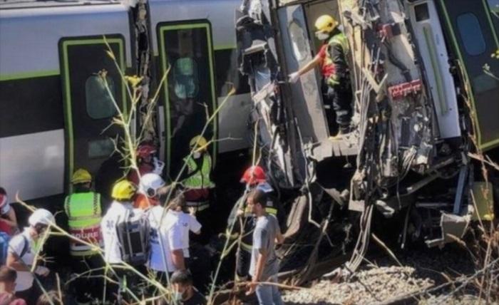 """Двајца загинати и најмалку 35 лица се повредени во железничка несреќа – во возот """"Алфа пендулар"""" имало 240 патници"""