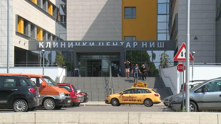 Експлозија и пожар во Клиничкиот центар во Ниш