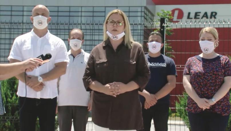 Стојаноска: Единствена стопанска гранка што процвета во време на СДСМ е рекетот