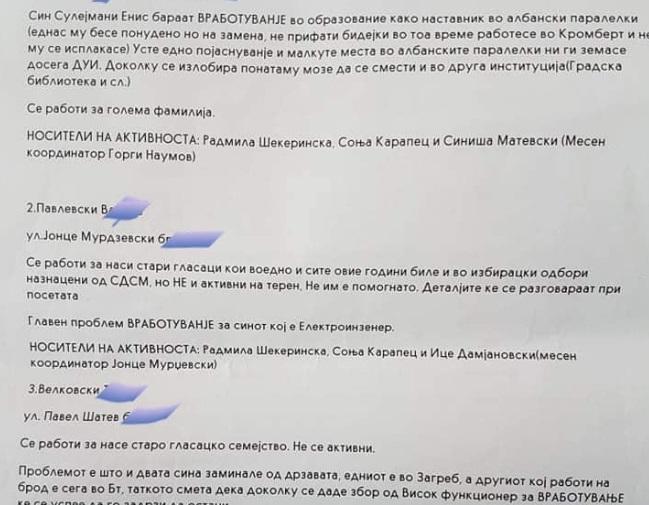 (ФОТО) Јосифовски: СДСМ врши притисоци и има списоци за партиски вработувања