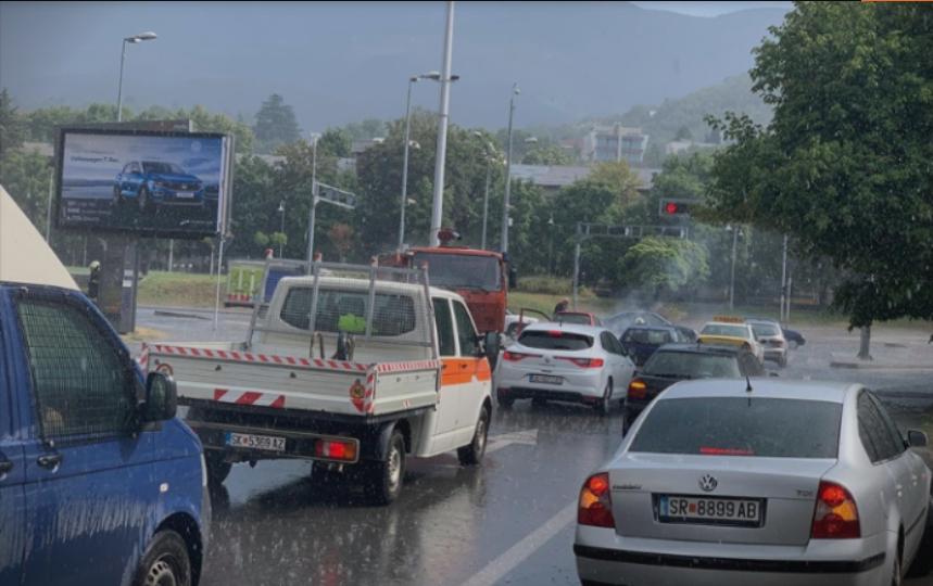 Пороен дожд во Скопје, Велес, Кичево и Свети Николе