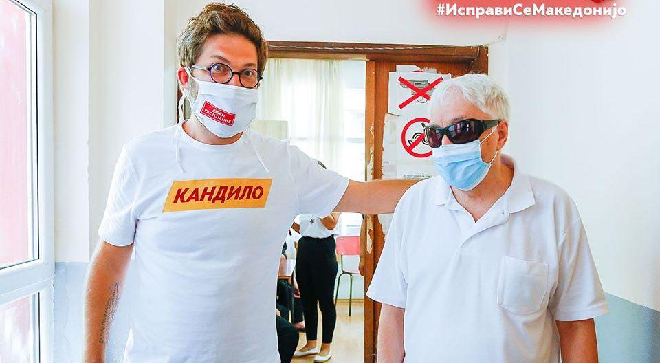 Дурловски: Предизвиците на лицата со попречен вид се мое секојдневие, ќе се заложам за нивен подостоинствен живот