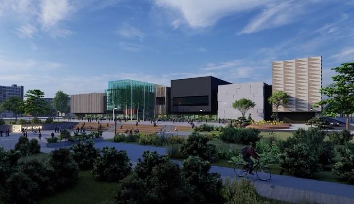 Tрговскиот центар Скопје Ист Гејт во последна градежна фаза, вкупната инвестиција е над 350 милиони евра