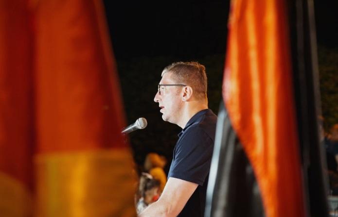 Мицкоски: За да се прави поткуп и криминал Заев ја задолжи државата за 420 милиони евра