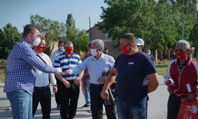 Мицкоски: Луѓето од властa на СДСМ продадоа се што имаше за продавање