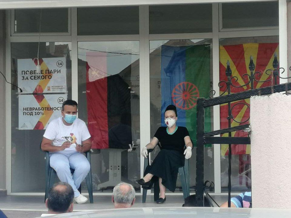 Мизрахи: Ветуваа живот за сите, да ги потсетиме на 15 јули дека во сите спаѓаат и Ромите