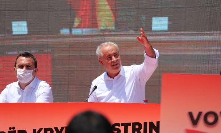 """Зибери: Резултатите говорат за убедлива победа на концептот """"прв премиер Албанец"""""""