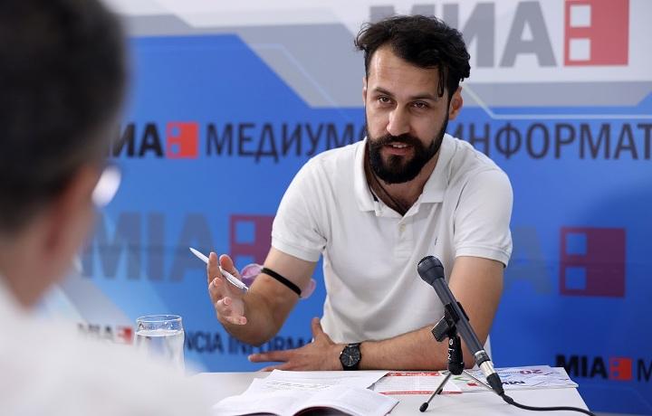 Реџеп Исмаил: Левица е партија на новата генерација без политички багаж зад себе