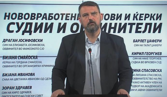 Стоилковски: Заев спрема терен со лица во правосудството кога ќе биде опозиција да му ги заташкуваат предметите