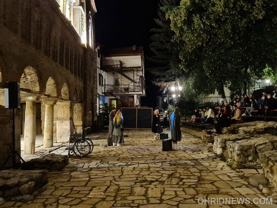 """Сестрите Прозорови ја отворија драмската програма на """"Охридско лето"""""""