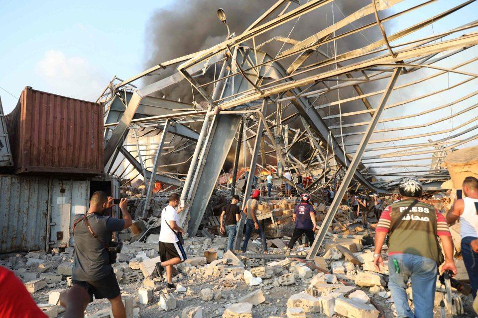 Над 60 луѓе се водат за исчезнати по експлозијата во Бејрут