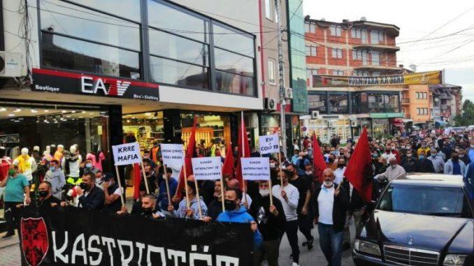 Да се повлече одлуката за зголемување на струјата, побараа гостиварци на протест