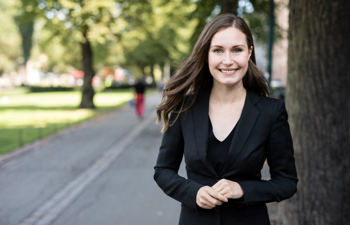 (ФОТО) Финската премиерка се омажи по 16 години врска