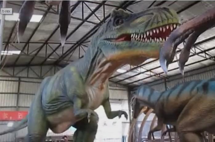 Диносаурусите подготвени за Зоолошката во Скопје