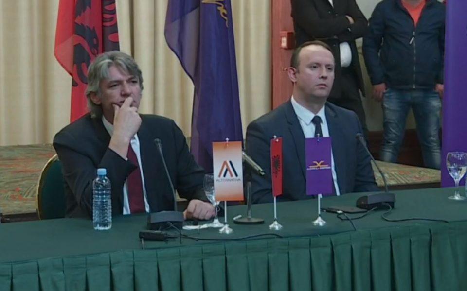 Коалиција Алијанса за Албанците и Алтернатива: Оваа влада е измамничка и нелегитимна