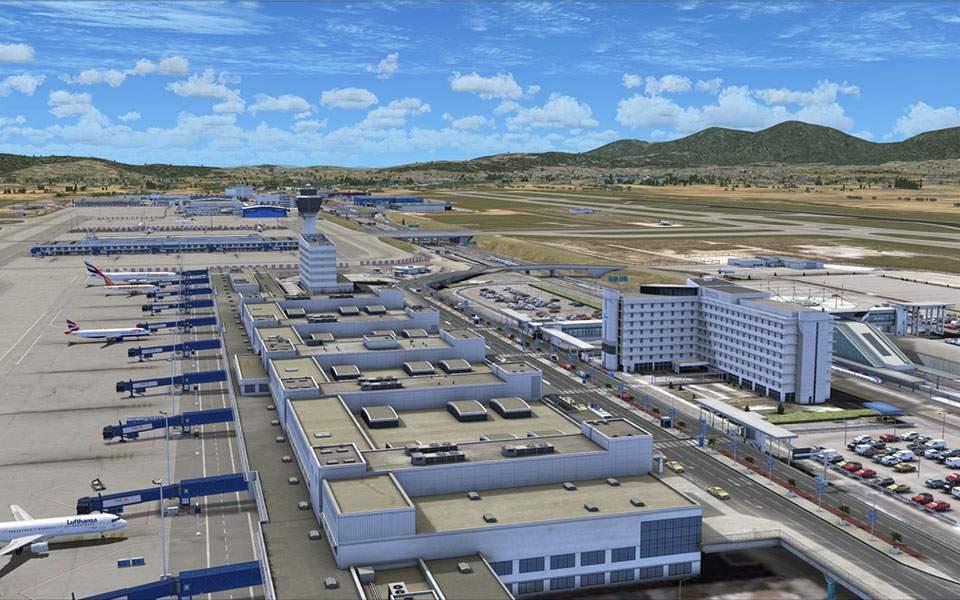 Во Грција драстично намален бројот на патници на грчките аеродроми