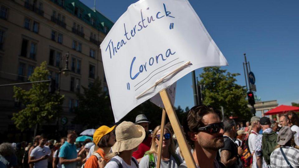 Градот Берлин забрани протести на противници на мерките против Ковид-19