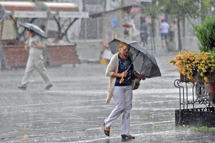 Најмногу дожд наврна во Демир Капија, Скопје и во Охрид