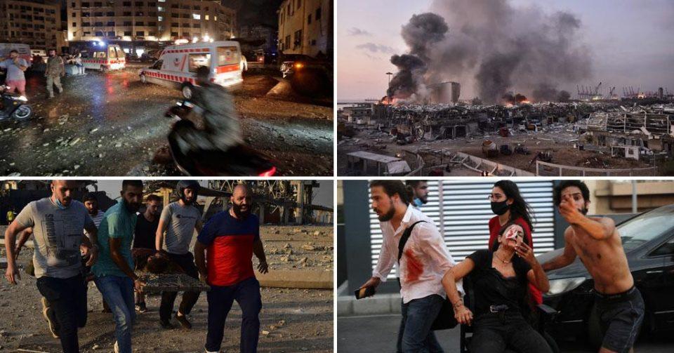 (ФОТО) Слики како од апокалипса: Претседателот на Либан свика итен состанок на Врховниот одбранбен совет