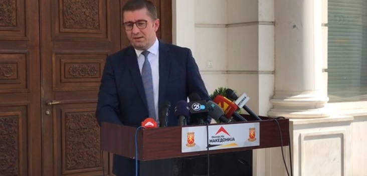 Мицкоски со пратениците ќе оди кај Пендаровски – бара одговор зошто Заев го добил мандатот