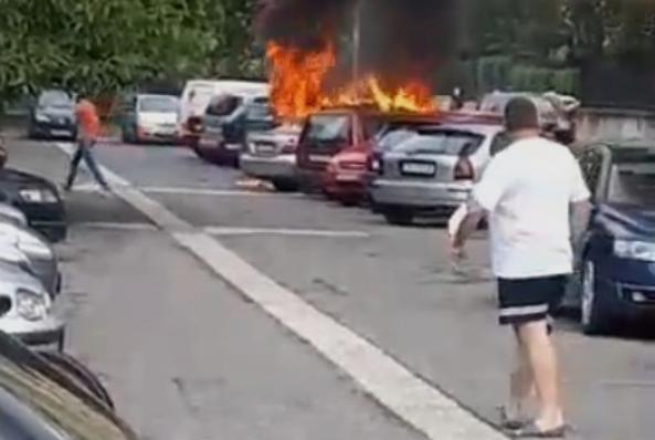 ВМРО-ДПМНЕ: Дали Вице Заев стои зад опожарените возила во Лисиче?