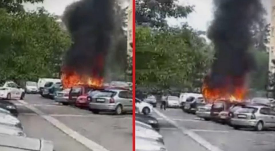 """МВР: Самозапалување е причината за опожарената """"сеат алтеа"""" во Ново Лисиче"""