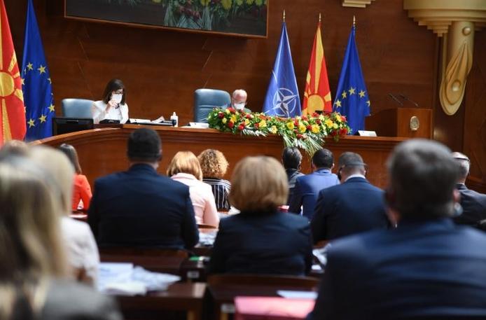 Почна продолжението на конститутивната седница во Собранието