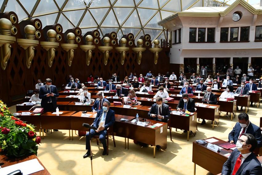 Собранието прифати повеќе предлог-закони во прво читање