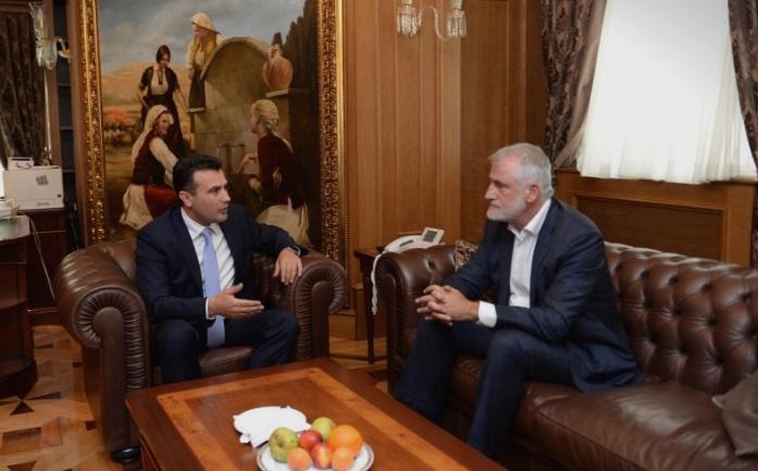 Tачи од Заев побарал да ја добие финансиска полиција за да истражува трансфери на пари од Иран и Катар