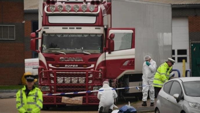 Пресуда за смртта на 39 мигранти од Виетнам во камион ладилник